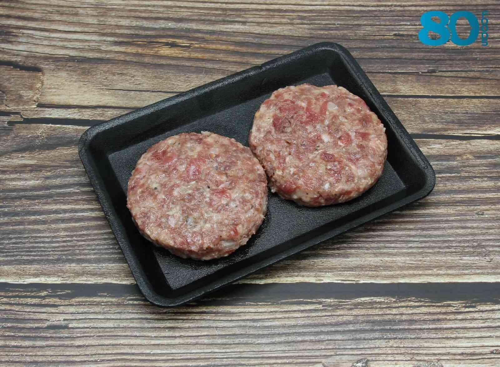 Nhân Burger bò Mỹ (2 viên)