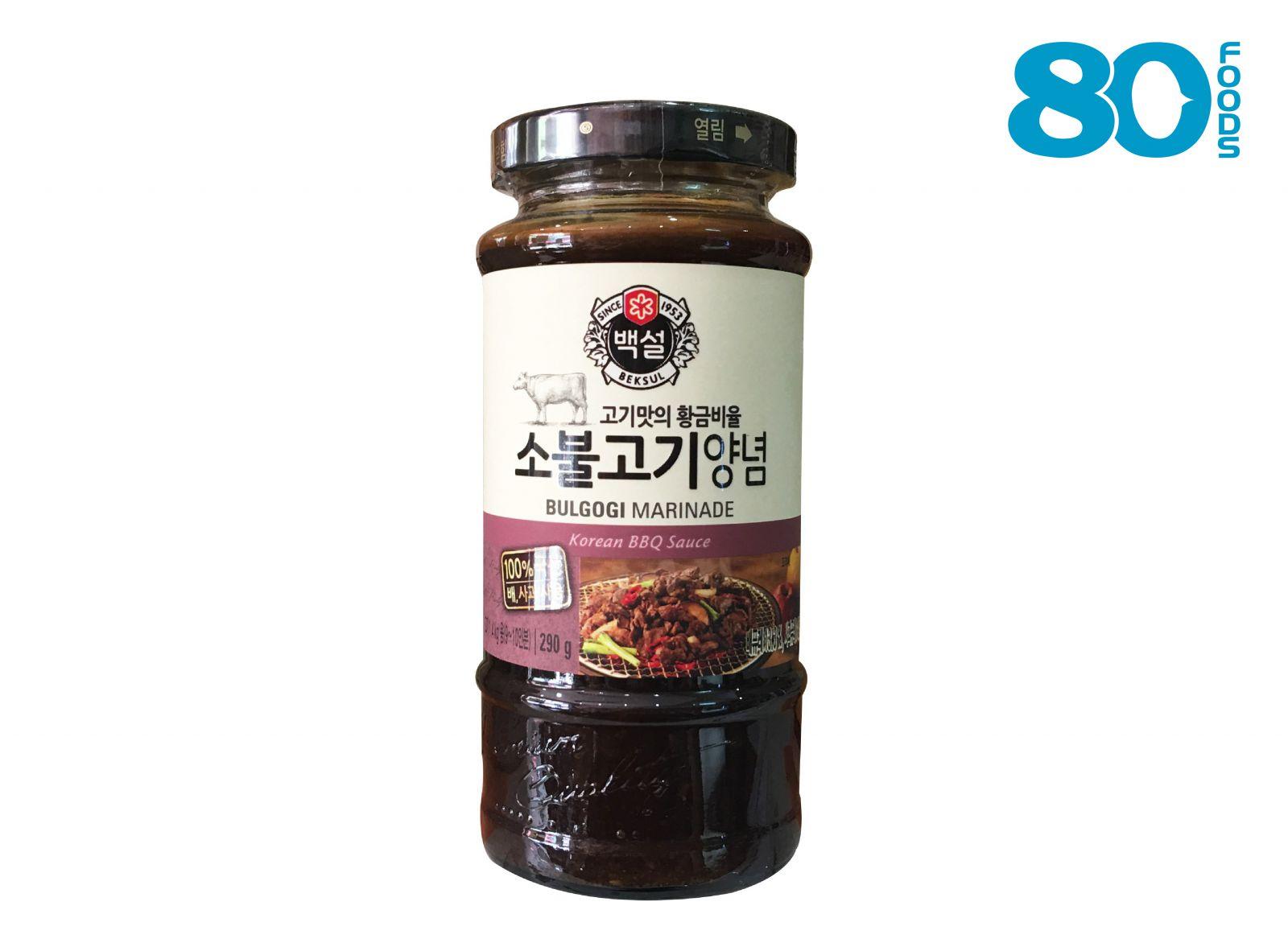 Sốt ướp BULGOGI bò Hàn Quốc