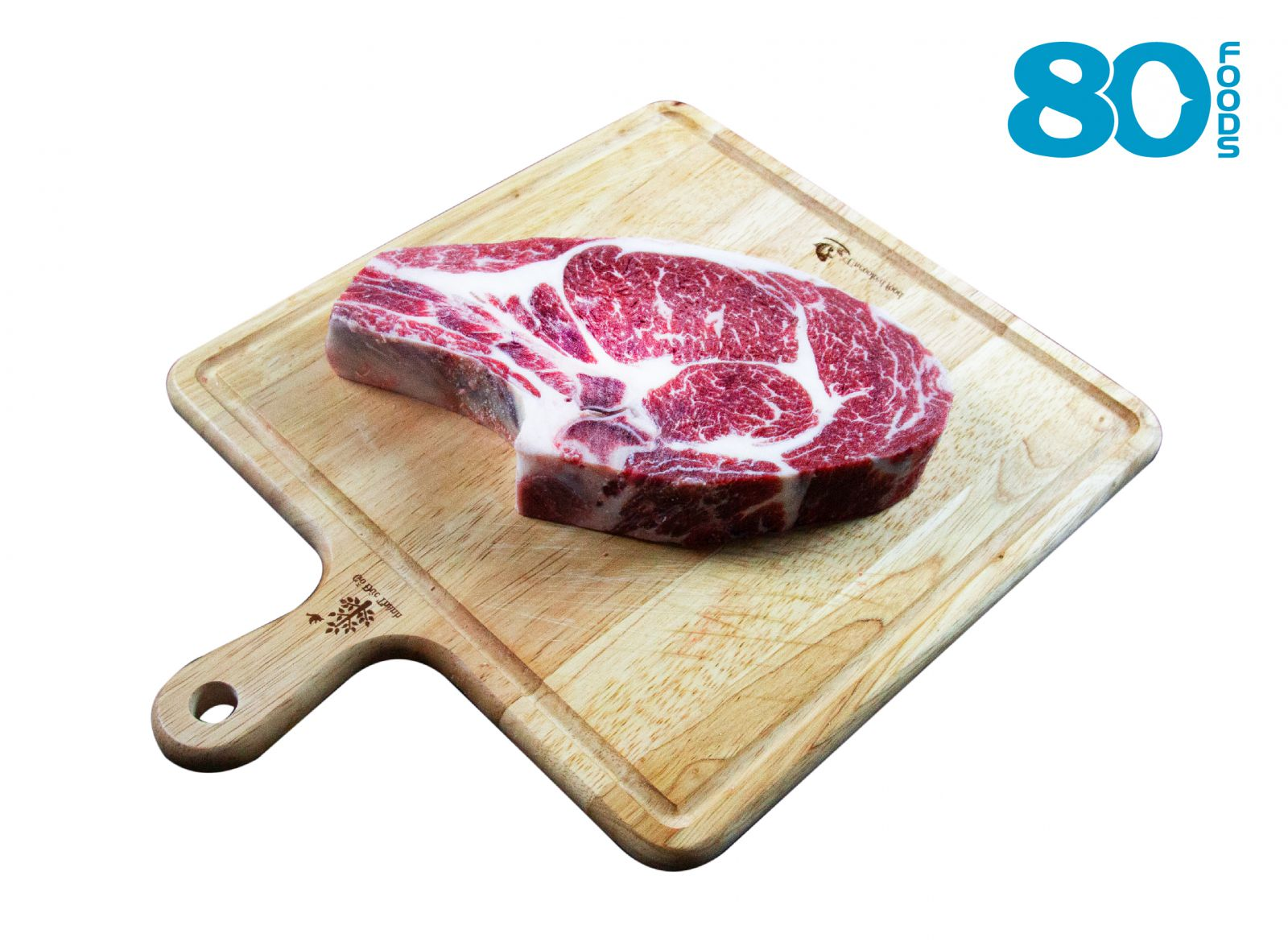 Ribeye bò Mỹ có xương cắt nướng
