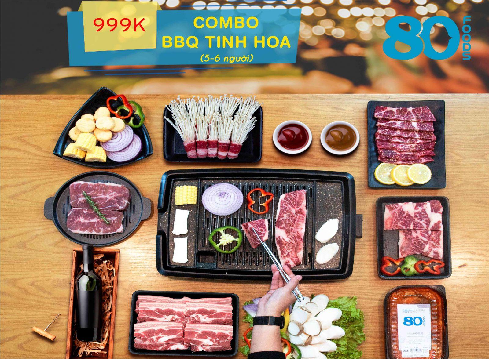 COMBO BBQ TINH HOA (5-6 NGƯỜI)