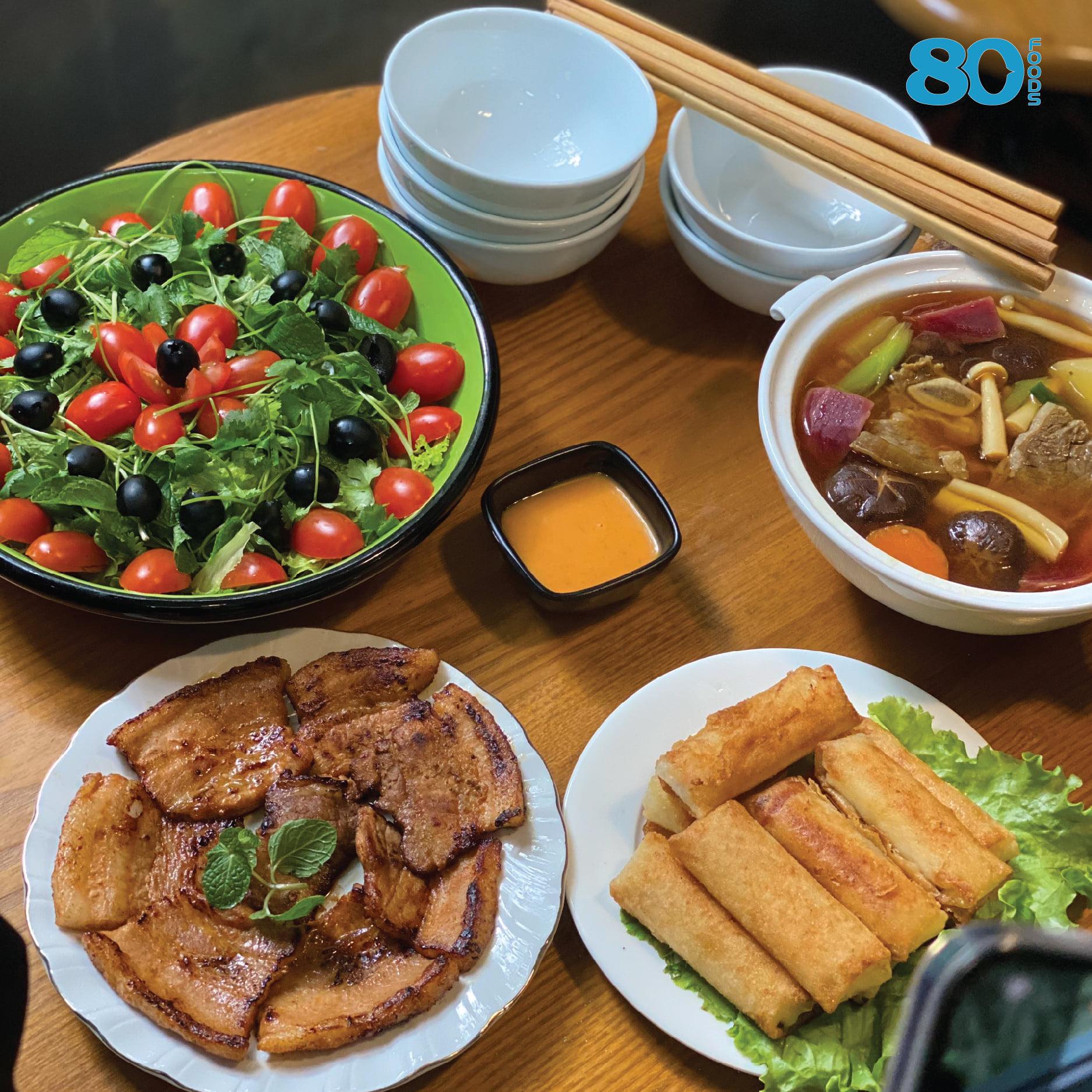 Bếp Bao Cấp 80FOODS - Cho bữa cơm gia đình hiện đại luôn ngon trọn vẹn!