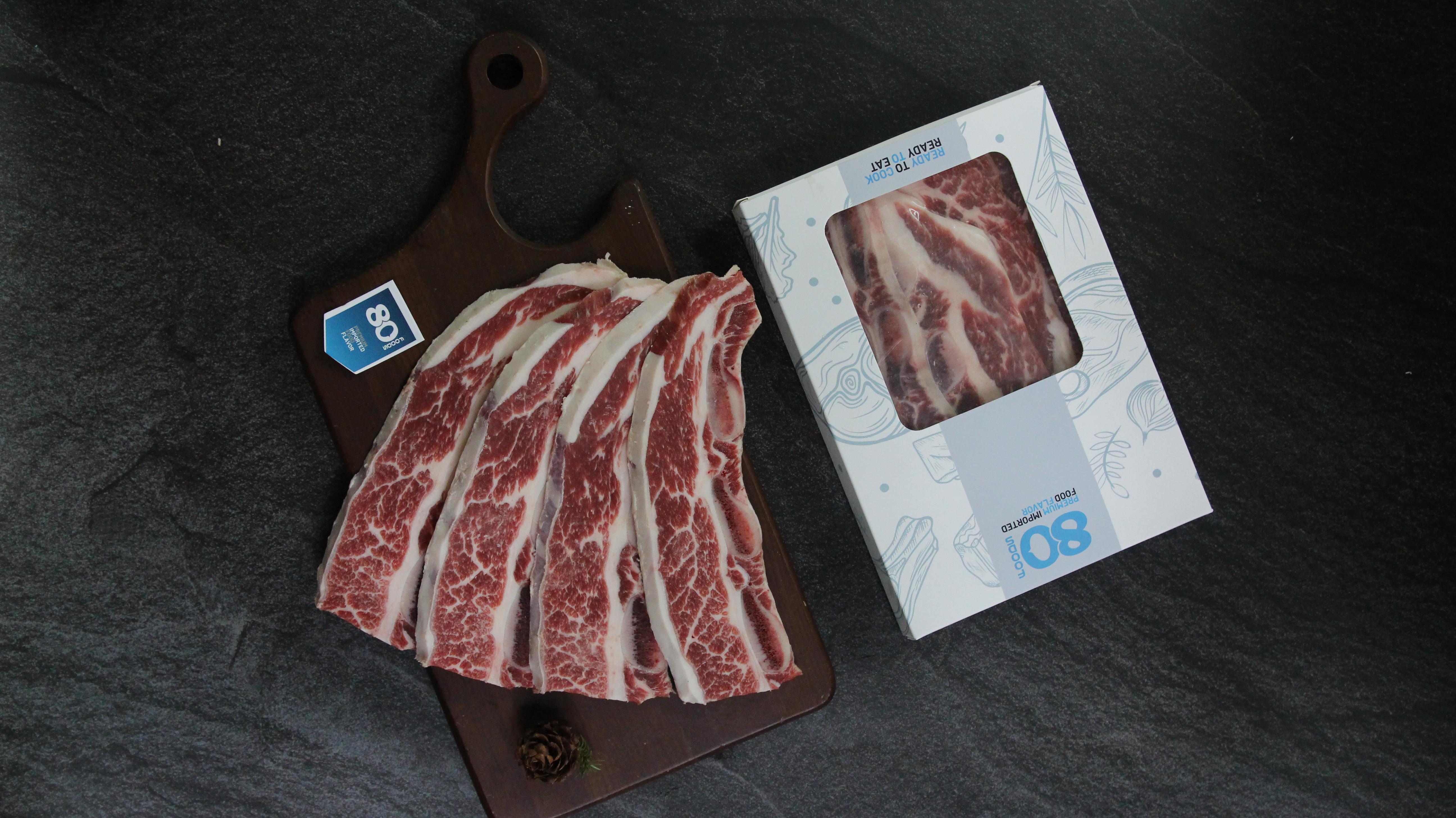Thịt bò Mỹ nhập khẩu taị 80FOODS